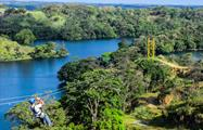 Gatun Lake Zip Line Canopy Panama Adventure, Gatun Lake Canopy Zip Line Tour from Panama City