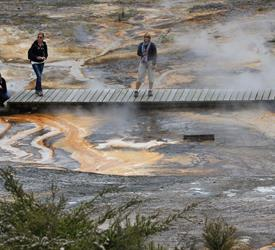 Geothermal Walk and Waterfall , Water Activities in New Zealand