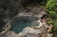 hot spring tiqy, Geothermal Walk and Waterfall