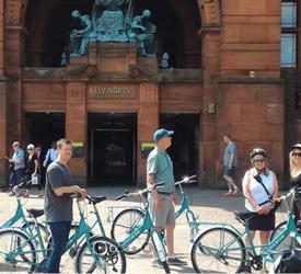 Glasgow City Sightseeing Bike Tour, City Tours in Scotland