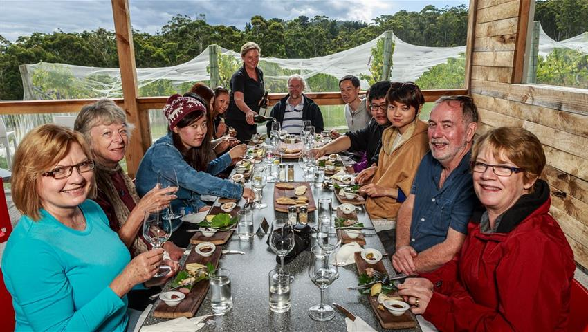 Bruny Island Travellers lunch, Gourmet Experience on Bruny Island