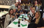 happy group tasting tapas like friends - tiqy, Tour de Tapas Gourmet en Málaga