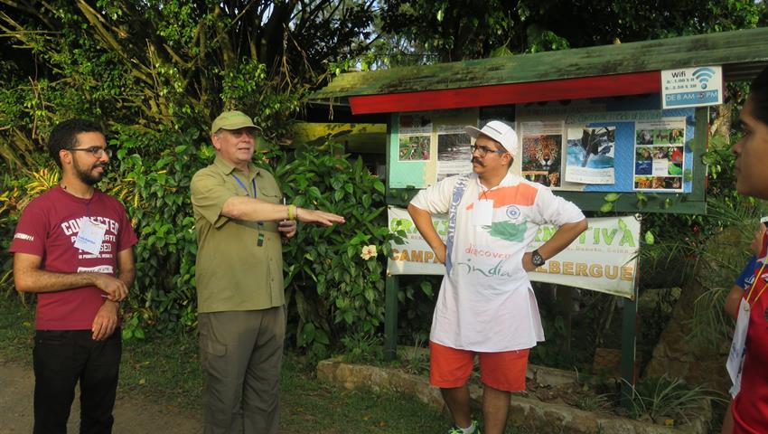 Learning about biodiversity - Tiqy, Educational Ecotour