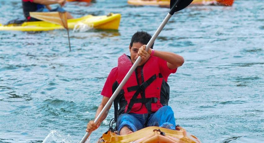 Kayak Colon Panama City Tiqy, Granja Medium Package