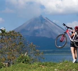 Arenal Volcano, Biking Tour and Baldi Hot Springs - Private Tour