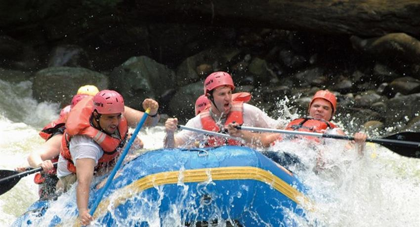 1, Sarapiqui River Whitewater Rafting and Horse Riding - Private Tours