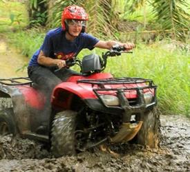 Jungle and River ATV Adventure - Private Tour