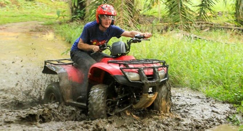 1, Jungle and River ATV Adventure - Private Tour