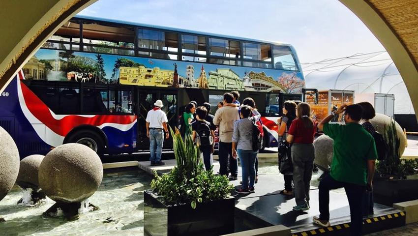 Bus, Guanacaste City Bus Tour