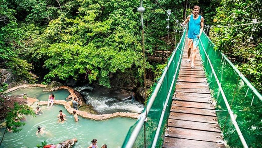 Bridge, 6 Horas de Paseo a Caballo en Guanacaste