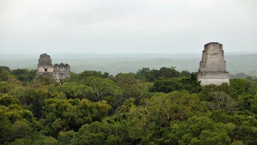 1, Tour a Tikal