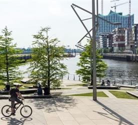 Guided Bike Tour To Hafencity in Hamburg