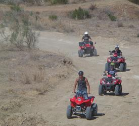 Guided Quad Route in Guadalhorce, Adventure Tours in Spain