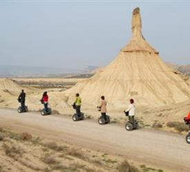 Guided Segway Tours around the Bardenas, Sightseeing Tours in Spain