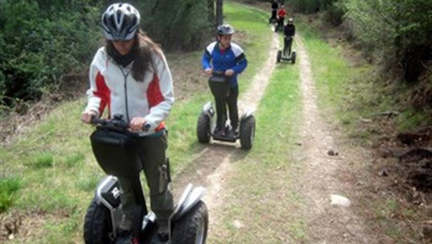 Open Field Adventure, Guided Segway Tours around the Moncayo