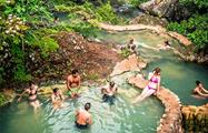 Termal pools, Hacienda Guachipelin Full Day Adventure