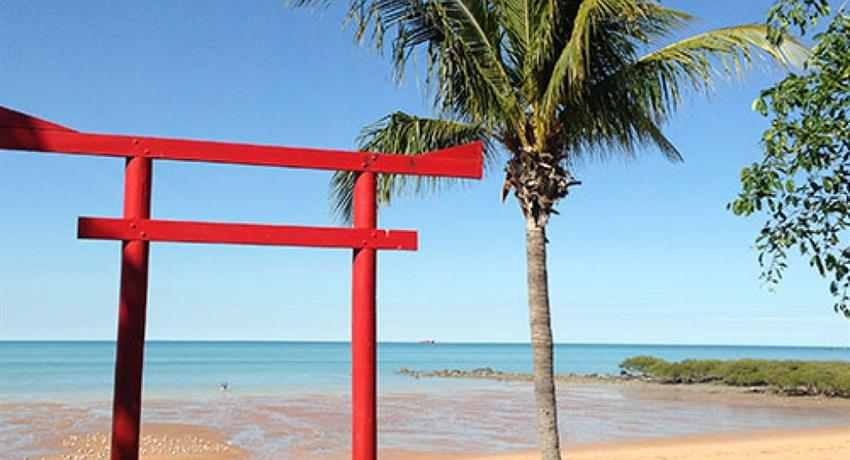 Half Day Broome Sights Tour town beach, Half Day Broome Sights Tour