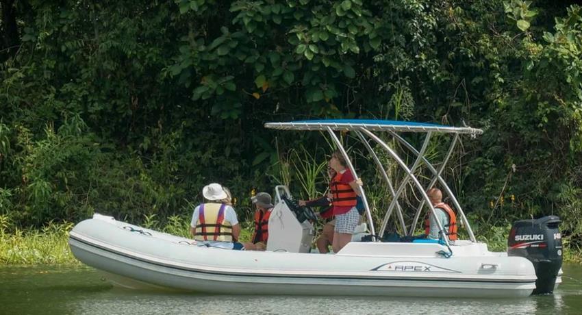 HALF DAY ECO BOAT TOUR THROUGH LAKE GATUN 1, Half Day Eco Boat Tour Through Lake Gatun