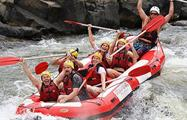 Half Day Rafting Barron River people in rafting, Half Day Rafting Barron River