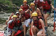 Half Day Rafting Barron River group of people, Half Day Rafting Barron River
