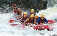 Half Day Rafting Barron River people in fun, Half Day Rafting Barron River