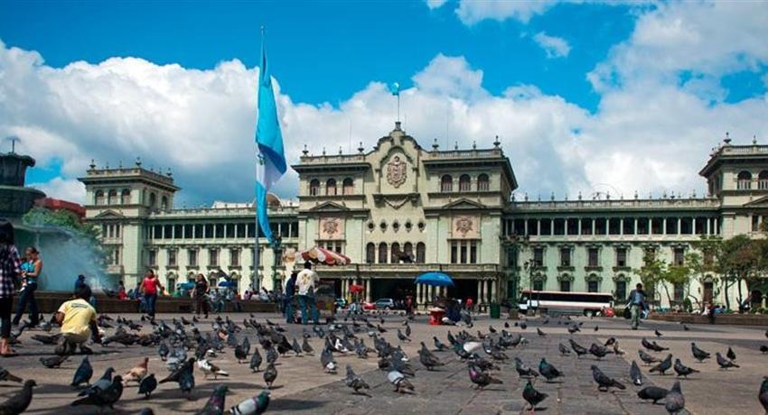 The National Palace - tiqy, Half Day Walking Tour in Guatemala City