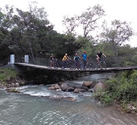 Hanging Bridges Bike Tour