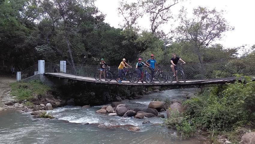 1, Hanging Bridges Bike Tour