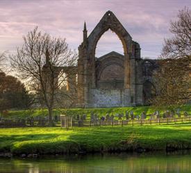 Haworth, Bolton Abbey and Steam Trains