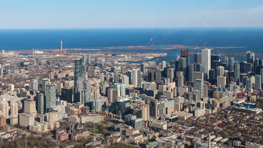The city of Toronto, Tour en Helicóptero
