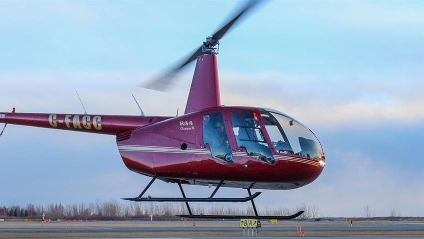 Helicopter, Tour en Helicóptero