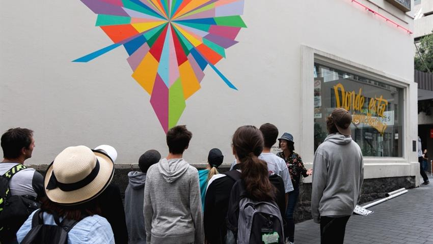 street art tiqy, Hello Auckland Tour