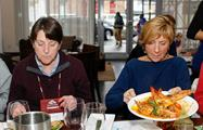 Tasting different flavors, Historical Food Tour
