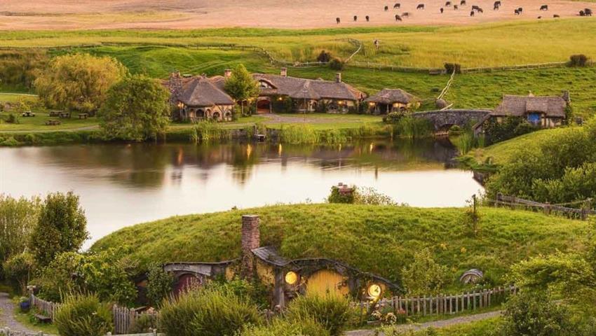 river tiqy, Hobbiton Day Tour