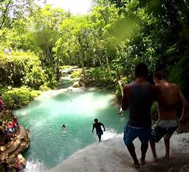 Irie Blue Hole and Fire Water