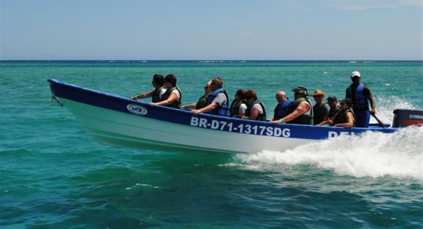 Cayo Paradise boat driver, Cayo Paradise Snorkeling Full Day Tour