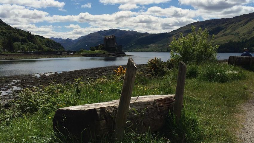 Banco-Eilean-Donan tiqy, Isle of Skye, Eilean Donan Castle