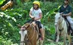 Small rider, Jaco 3-Hour Horseback Riding Tour