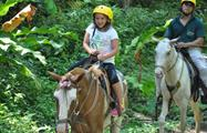 Small rider, Jaco 3-Hour Horseback Riding Tour
