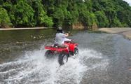 River riding, Jaco Adventure ATV Tour