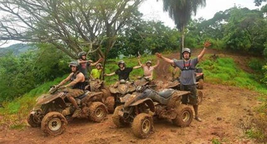 The Team Fourwheel, Jaco Adventure ATV Tour