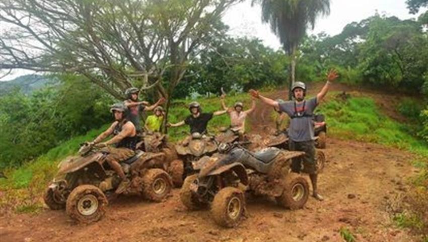 The Team Fourwheel, Jaco Adventure ATV Tour