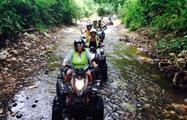 Nice and dirty, Jaco Adventure ATV Tour