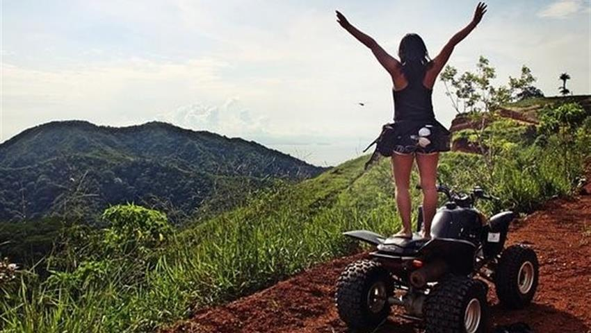 You'll never gonna miss it, Jaco Adventure ATV Tour