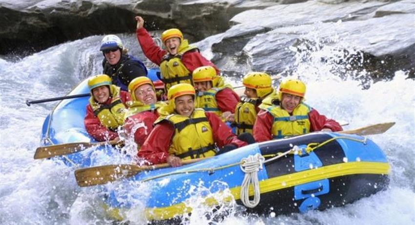 1, White Water Rafting & Beach Bar