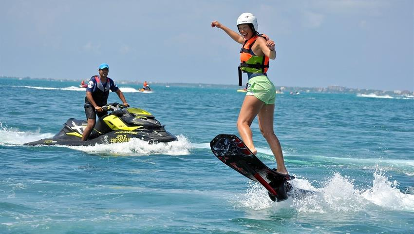 1, Hoverboard Jamaica Flight Experience
