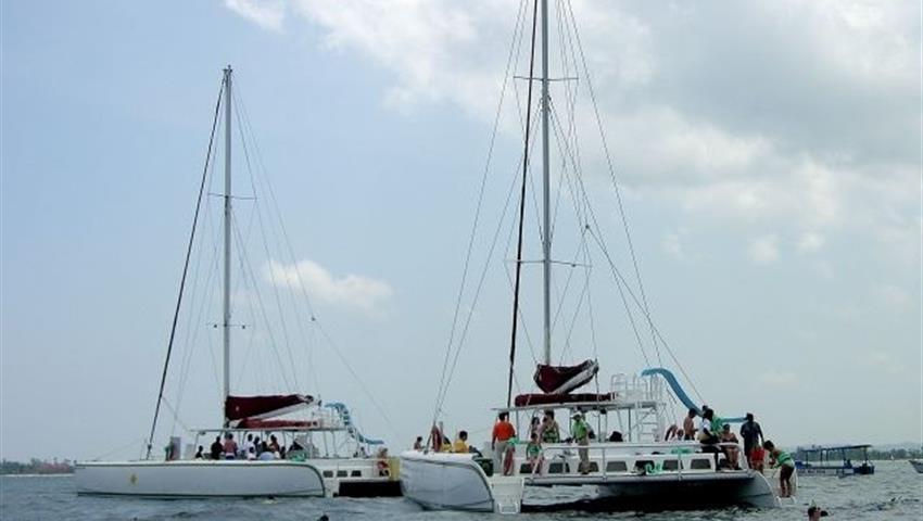 5, Catamaran Booze Cruise Tour