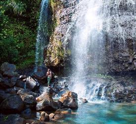 Caminata Cataratas Kalihiwai