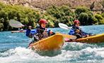 kayak tiqy, Kayak en el Poderoso Clutha