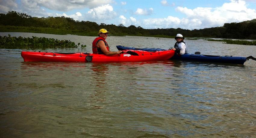 Panama Canal single person kayak, Kayak Tour Through The Panama Canal